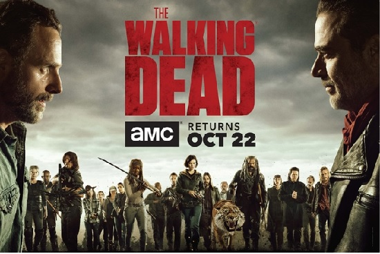 Poster promocional  The Walking Dead