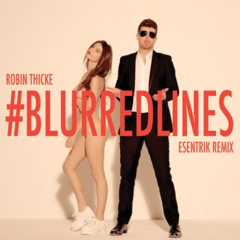 Escena del video de Blurred Lines