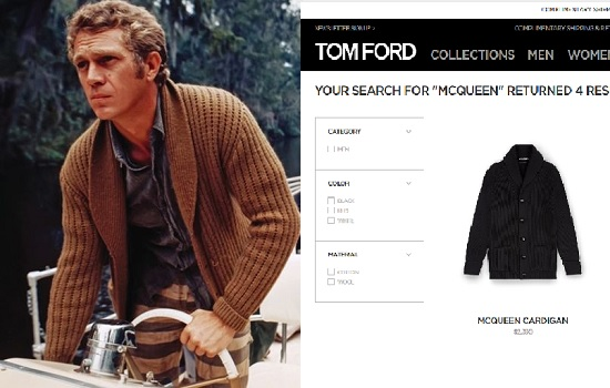 Cardigan Tom Ford McQueen